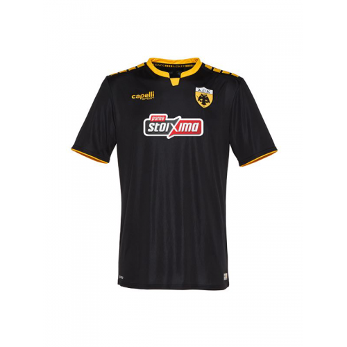 Capelli Sport AEK FC Away Jersey 2018-19 AGA-3429 Black/Gold