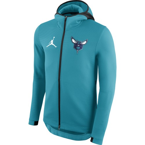 Charlotte Hornets Jordan Therma Flex Showtime Men's NBA Hoodie 940116-428