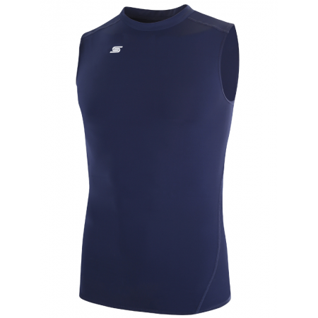 Adult Thermadry CS Sleeveless Performance Top AGA-1260-Navy