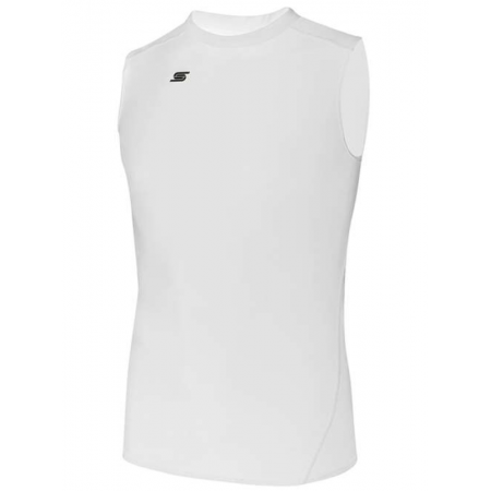 Adult Thermadry CS Sleeveless Performance Top AGA-1260-White