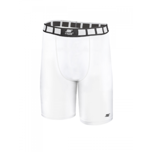 Adult Thermadry CS Compression Shorts AGA-1496-White