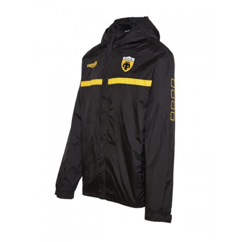Capelli Sport Aντιανεμικό Jacket AGA-2180XAEK BLACK/GOLD