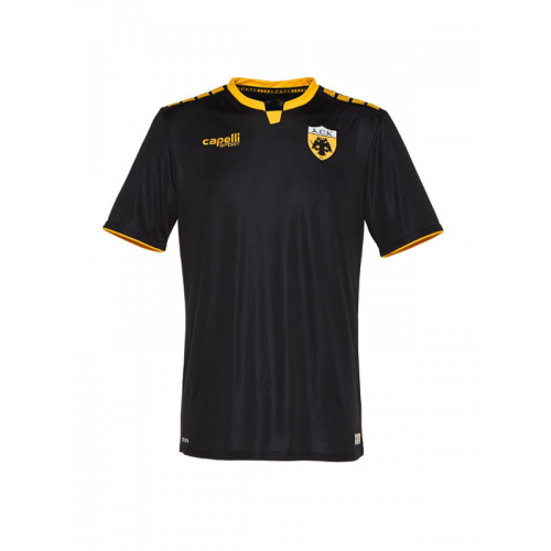 Capelli Sport Kids' AEK FC Away Jersey AGA-3409 BLACK/GOLD