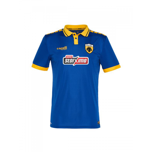 Capelli Sport AEK FC Neutral Jersey 2018-19  AGA-3412 Blue/Gold