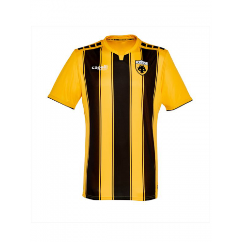 Capelli Sport Kids' AEK FC Home Jersey AGA-3428 GOLD/BLACK