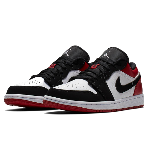 "Air Jordan 1 Low ""Black Toe"" 553558-116"