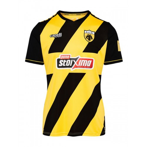 Capelli Sport AEK FC Home Jersey 2019-20 AGA-3671 Gold/Black