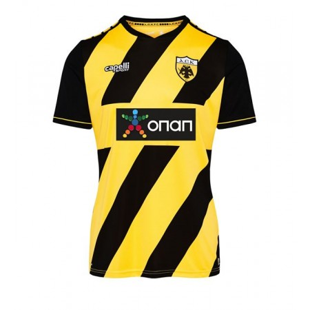 Capelli Sport Youth AEK FC Home Jersey 2019-20 AGA-3670 Gold/Black