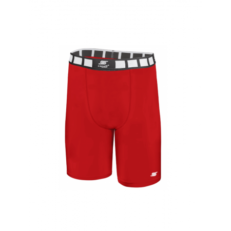 Adult Thermadry CS Compression Shorts AGA-1496-Red