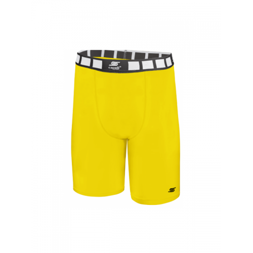 Adult Thermadry CS Compression Shorts AGA-1496-Yellow