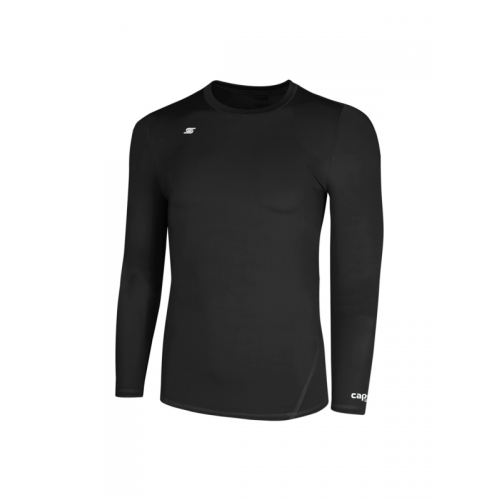 Capelli Sport Black Adult Thermadry Long Sleeve Pe AGA-1258