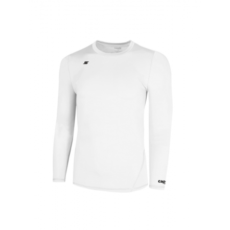 Capelli White Adult Thermadry Long Sleeve Pe AGA-1258